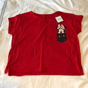 *NWT* 🌼 Primark Minnie Mouse Crop Top